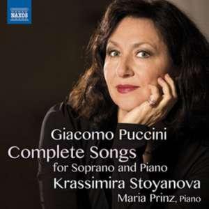 Sämtliche Lieder für Sopran und Klavier de Giacomo Puccini