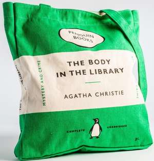 Sacosa Penguin (Book Bag), Body in the Library