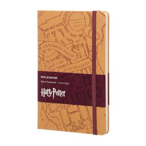 Moleskine Harry Potter Limited Edition Notebook Large Ruled Hard - Marauder's Map