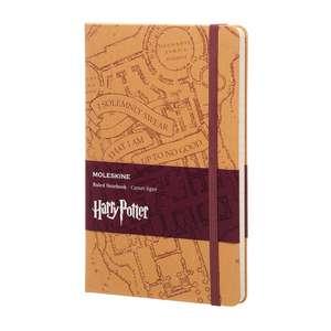 Moleskine Harry Potter Limited Edition Notebook Large Ruled Hard - Marauder's Map