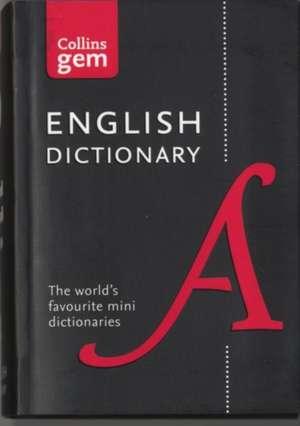 Collins English Gem Dictionary de  Collins Dictionaries