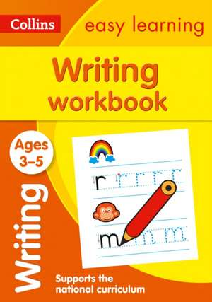 Writing Workbook Ages 3-5 imagine