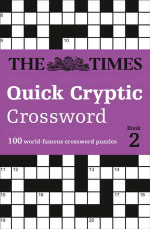 The Times Quick Cryptic Crossword Book 2 de  The Times Mind Games