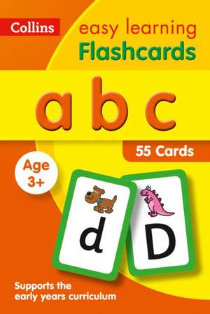ABC Flashcards de Collins Easy Learning