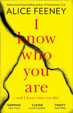I Know Who You Are de Alice Feeney