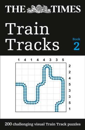 The Times Train Tracks Book 2 de  The Times Mind Games