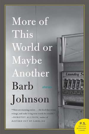 More of This World or Maybe Another de Barb Johnson