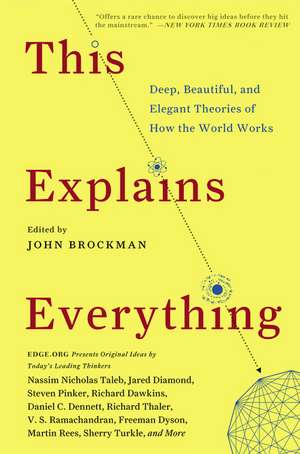 This Explains Everything: Deep, Beautiful, and Elegant Theories of How the World Works de John Brockman