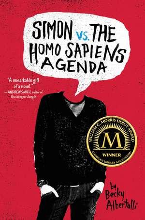 SIMON VS THE HOMO SAPIENS AGENDa de Becky Albertalli