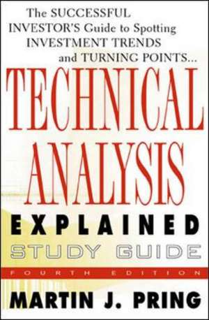 Study Guide for Technical Analysis Explained de Martin Pring