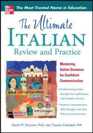 The Ultimate Italian Review and Practice de David Stillman