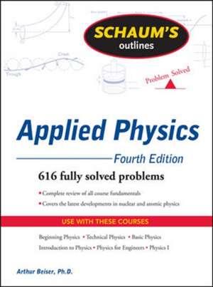 Schaum's Outline of Applied Physics, 4ed de Arthur Beiser