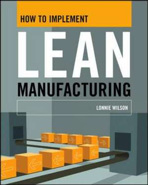 HT IMPLEMENT LEAN MANUFACTURIN