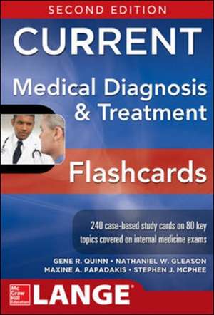 CURRENT Medical Diagnosis and Treatment Flashcards, 2E