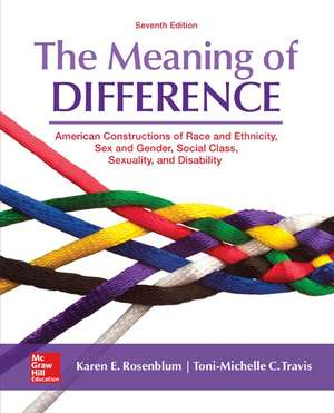 The Meaning of Difference: American Constructions of Race and Ethnicity, Sex and Gender, Social Class, Sexuality, and Disability imagine
