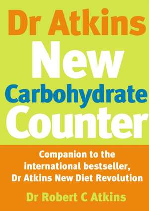 Dr. Atkins' New Carbohydrate Counter imagine