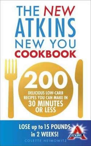 The New Atkins New You Cookbook imagine