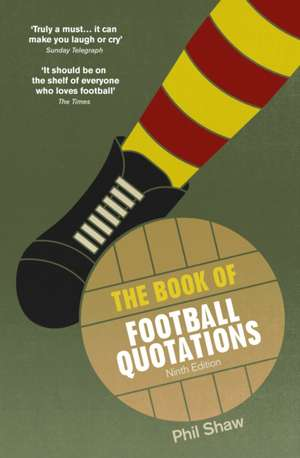 The Book of Football Quotations imagine