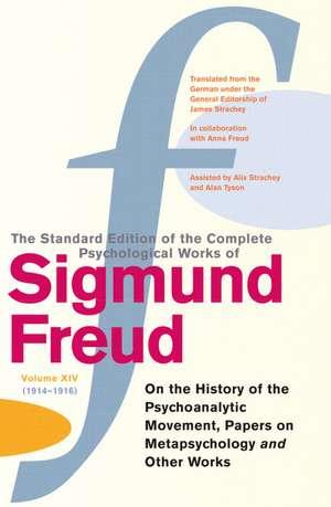 Complete Psychological Works Of Sigmund Freud, The Vol 14 imagine