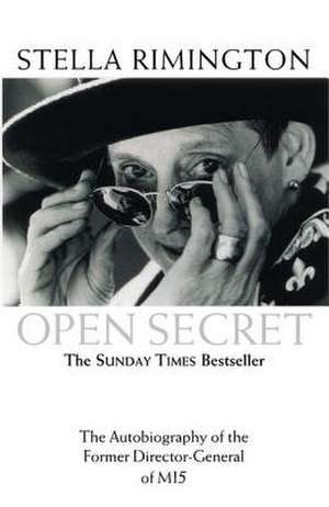 Open Secret de Stella Rimington
