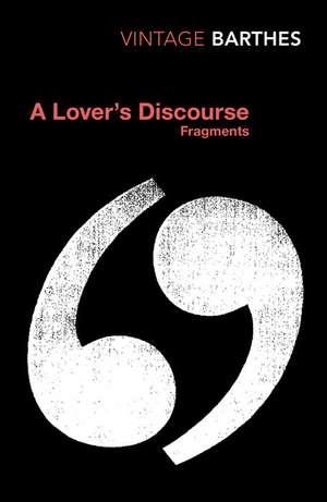 A Lover's Discourse de Roland Barthes