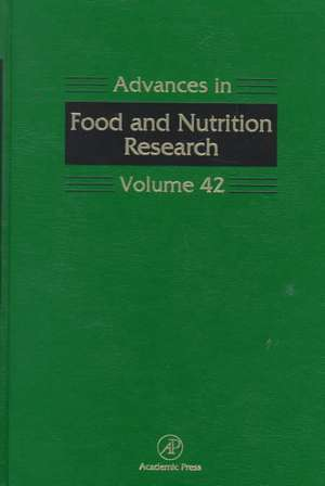 Advances in Food and Nutrition Research de Steve Taylor