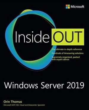 Windows Server 2019 Inside Out de Orin Thomas