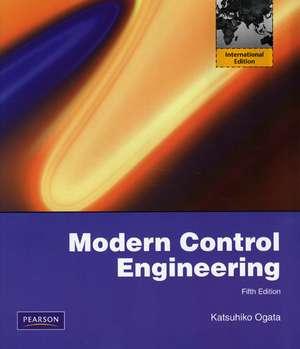 Modern Control Engineering: International Version de Katsuhiko Ogata