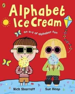 Alphabet Ice Cream imagine