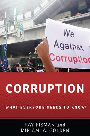 Corruption: What Everyone Needs to Know® de Ray Fisman
