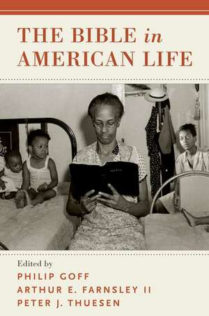 The Bible in American Life