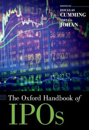 The Oxford Handbook of IPOs de Douglas Cumming