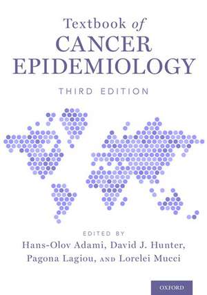 Textbook of Cancer Epidemiology de Hans-Olov Adami