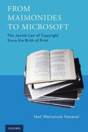 From Maimonides to Microsoft