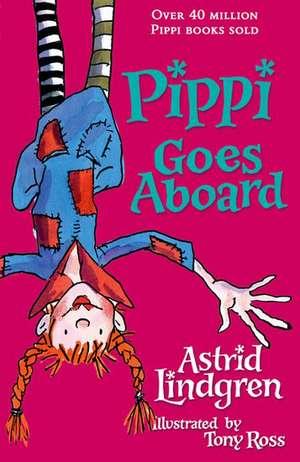 Pippi Goes Aboard
