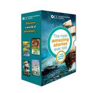 Oxford Children's Classics: World of Adventure box set de Robert Louis Stevenson