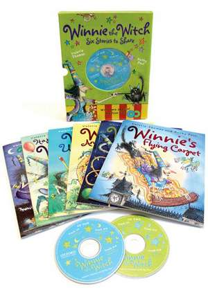 Winnie the Witch 6 Stories to Share & 2 audio CDs de Valerie Thomas
