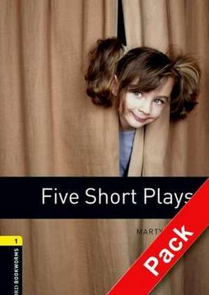Oxford Bookworms Library: Level 1:: Five Short Plays audio CD pack de Martyn Ford