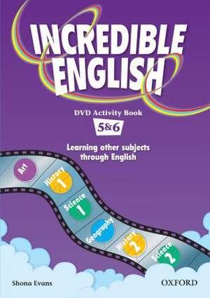 Incredible English: 5 & 6: DVD Activity Book