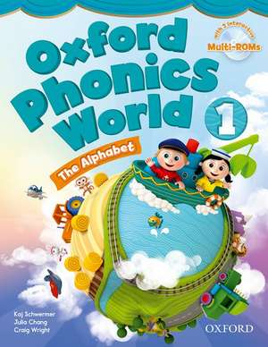 Oxford Phonics World: Level 1: Student Book with MultiROM