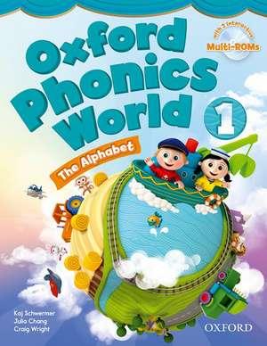 Oxford Phonics World: Level 1: Student Book with MultiROM