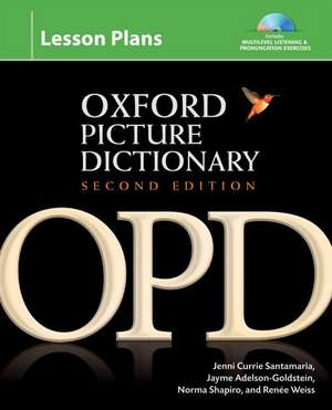 Oxford Picture Dictionary Second Edition: Lesson Plans imagine