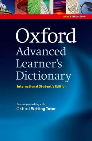 Oxford Advanced Learner's Dictionary, 8th Edition: International Student's Edition (only available in certain markets) de Hornby