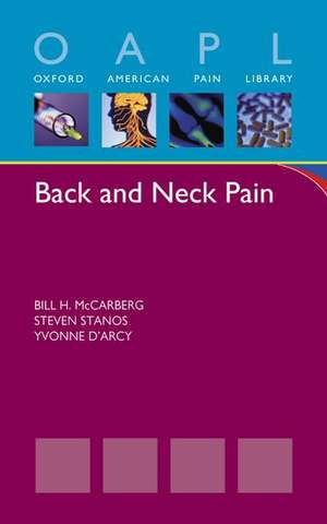 Back and Neck Pain de Bill McCarberg
