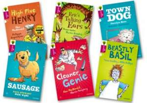 Oxford Reading Tree All Stars: Oxford Level 10: Pack 2a (Pack of 6) de Pat Thomson