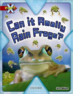 Project X: Y6 Red Band: Unexplained Cluster: Can It Really Rain Frogs?