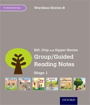 Oxford Reading Tree: Level 1: Wordless Stories B: Group/Guided Reading Notes de Roderick Hunt