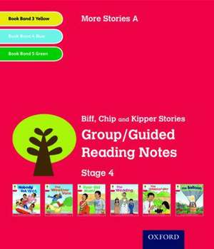 Oxford Reading Tree: Level 4: More Stories A: Group/Guided Reading Notes de Roderick Hunt