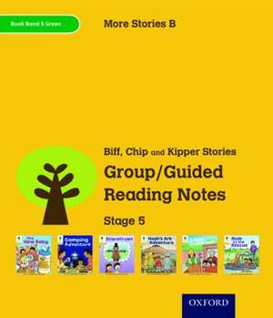 Oxford Reading Tree: Level 5: More Stories B: Group/Guided Reading Notes de Roderick Hunt