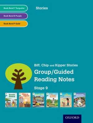 Oxford Reading Tree: Level 9: Stories: Group/Guided Reading Notes de Roderick Hunt